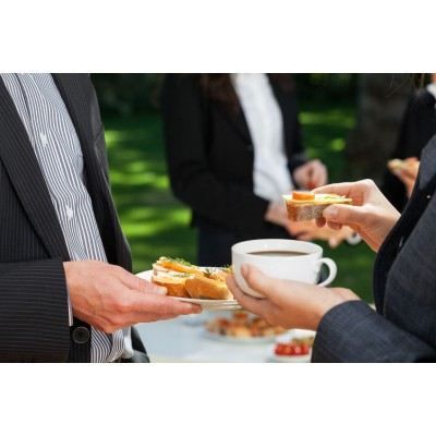 Boîte à lunch corporative : Dîner d'affaire