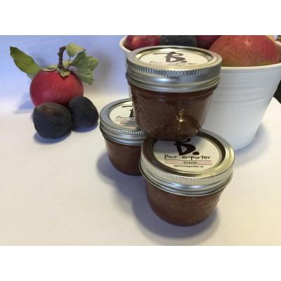 Confit de pommes et figues