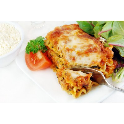 Boîte à lunch : Lasagne à la viande