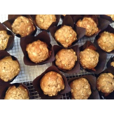 "Muffin ""croustade aux pommes"""