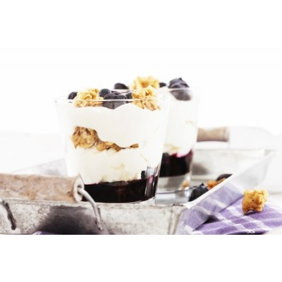 Yogourt, fruits & granola