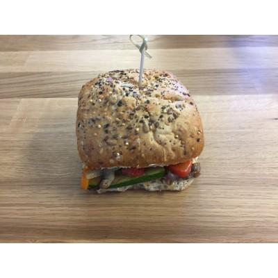 Boîte à lunch: Sandwich aux légumes grillés