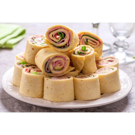 Boite à lunch junior : Wrap & crudités